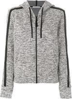 Calvin Klein Jeans zipped hoodie - women - Polyester/Spandex/Elastane/Viscose - L