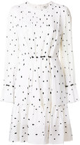 3.1 Phillip Lim Printed pintucked dress