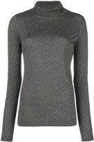 Moschino Pre Owned funnel neck top