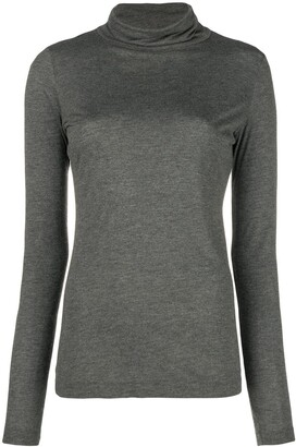 Moschino Pre-Owned Funnel Neck Top