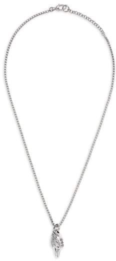 Gucci Eagle Head Sterling Silver Necklace