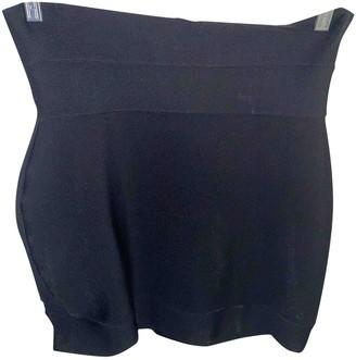 Herve Leger Black Cotton - elasthane Skirt for Women