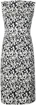Paule Ka floral print fitted dress