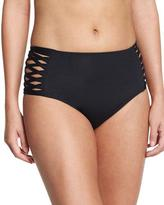 L-Space L Space High-Rise Crisscross Swim Bottom