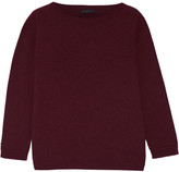 The Row Juliette Cashmere Sweater - Burgundy