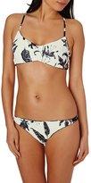 Roxy Printed Strappy Love Athletic Tri Bikini Top