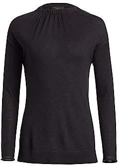 Fabiana Filippi Women's Cashmere & Silk Gathered Sweater
