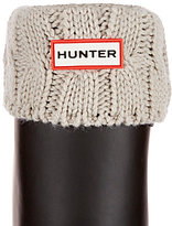Hunter Six-Stitch Cable Short Boot Socks