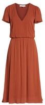 WAYF Women's Blouson Midi Dress