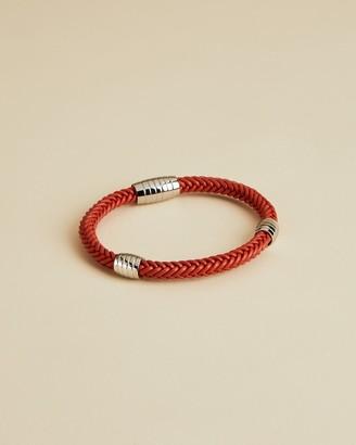 Ted Baker PAVING Leather braided bracelet