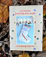 Your Own Harmony at Home Children's Eco Boutique Make Personalised Christmas Stocking And Angel