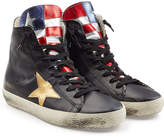 Golden Goose Deluxe Brand Francy High-Top Leather Sneakers