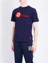 Evisu Brand-logo cotton T-shirt