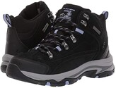 Skechers Trego - Alpine Trail (Black/Lavender) Women's Shoes