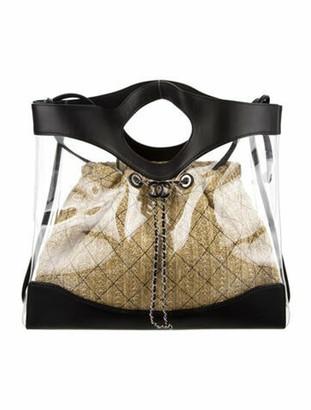 Chanel 2019 PVC 31 Shopping Bag Clear
