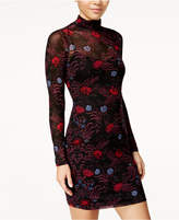 Material Girl Juniors' Printed Bodycon Dress, Created for Macy's