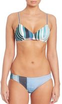 Clover Canyon Striped Eclipse Bikini To