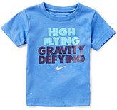 Nike Little Boys 2T-7 High Flying Gravity Defying Short-Sleeve Tee