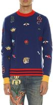 Gucci Knitted Pull With Embroideries