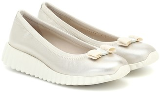 Salvatore Ferragamo Dolly leather ballet flats