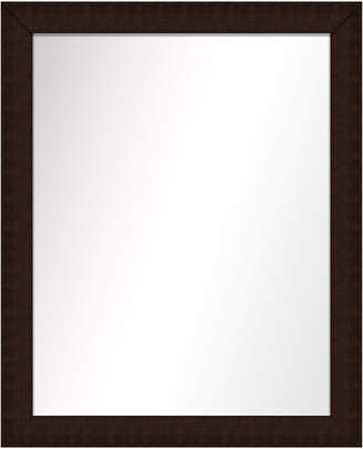 PTM Images Over the sink Vanity Mirror, Brown, 25.5x31.5
