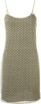 Diane von Furstenberg 'Alvera' mini dress - women - Polyester/Spandex/Elastane/Metallic Fibre - 14