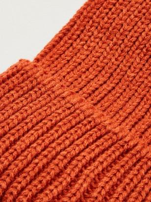 Very Knitted Pom Pom Beanie - Rust