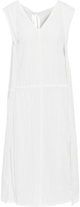 Helmut Lang Layered Crinkled-shell Dress