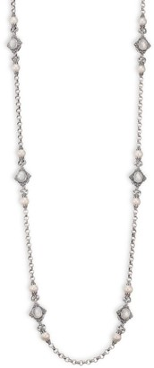 Konstantino Mother-Of-Pearl Station Necklace