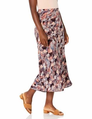 Nine West Women's Printed MIDI Skirt