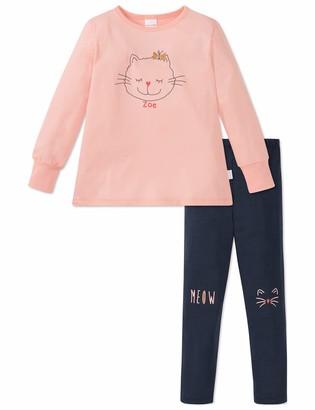 Schiesser Cat Zoe Md Anzug lang Girl's Pyjama Sets