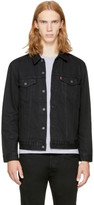 Levi's Black Denim 'The Trucker' Jacket