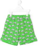 Au Jour Le Jour Kids Rhinoceros shorts