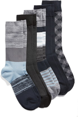 Nordstrom Assorted 5-Pack Ultrasoft Socks