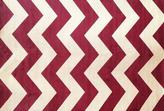 Apt2B Coolidge Area Rug RED CHEVRON