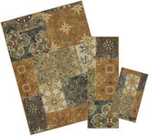 Mohawk Home Soho Harmonic Patch Asst Printed Rectangular 3-pc. Rug Set