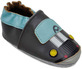 Kimi + Kai Boys' Soft-Sole Leather Baby Shoes with Car