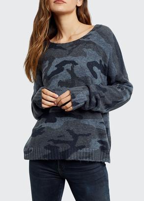 Rails Louie Camo-Print Sweater