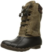Sperry Women's Salwater Misty Brown Wool Rain Boot
