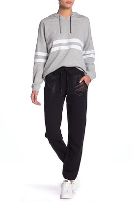 Andrew Marc Mesh Pocket Closed Bottom Sweats