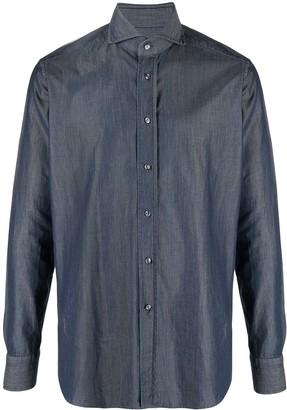 Tagliatore Classic Chambray Shirt