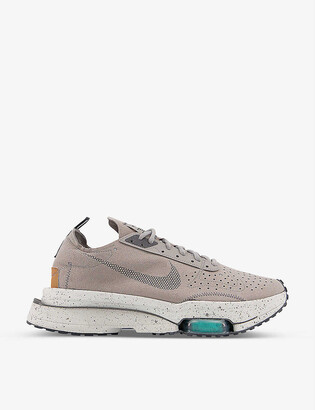 Nike Air Zoom Type suede low-top trainers