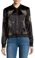 Endless Rose Star Embellished Bomber Jacket