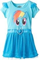 My Little Pony Girls' Rainbow Dash Tulle Costume Dress