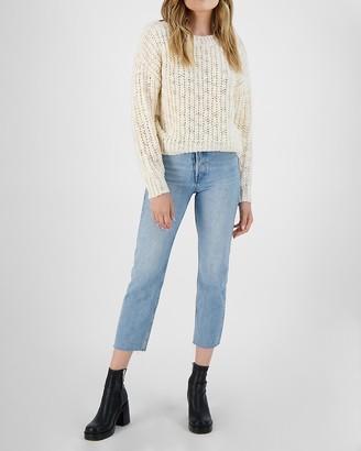Express Bb Dakota Chunky Knit Sweater
