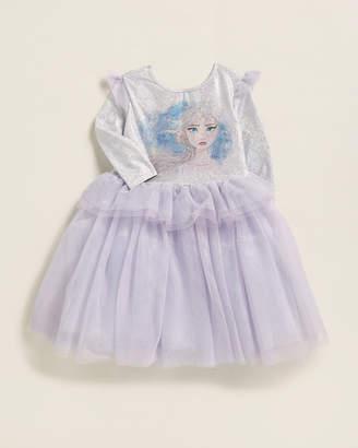 Pippa & Julie Girls 4-6x) Sparkle Bodice Peplum Waist Dress
