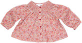 Marie Chantal Smock Liberty Print Baby Top