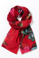 Desigual Large Flower Scarf
