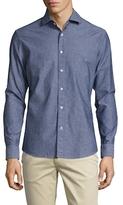Slate & Stone Spread Collar Oxfrod Sportshirt