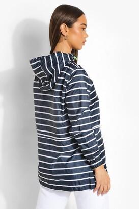 boohoo Stripe Print Mac